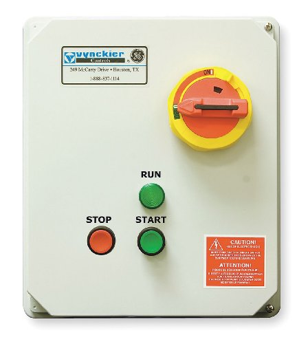 GE (General Electric) - GE-CE1420SSP - 120VAC Selector Switch IEC Combination Starter, 4X Enclosure NEMA Rating, Amps AC: 14 to 20