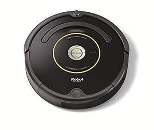 iRobot Roomba 650 - Robot Aspirador, Alto Rendimiento de Limpieza, Programable, Atrapa el Pelo de Mascotas, Color Negro