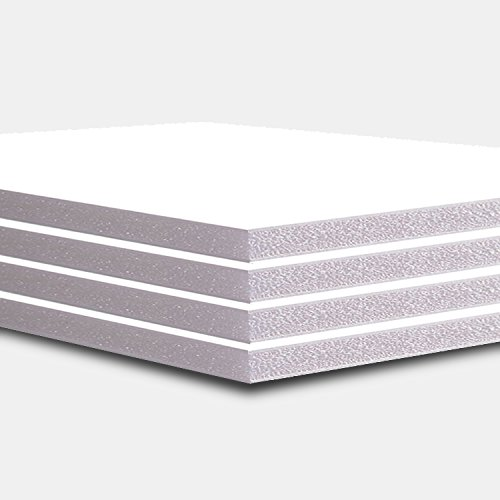 A1 Size 5mm White Foam Board Pack of 10 ( Strong and High Quality) Size 594x841mm WARM TOUCH