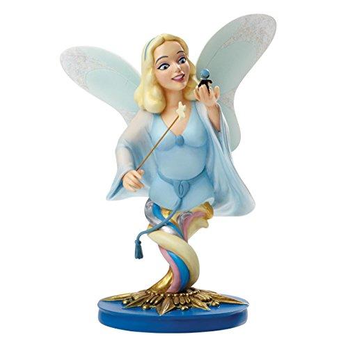 Grand Jester Studios Disney LE Pinocchio Blue Fairy with Jiminy Bust Figurine
