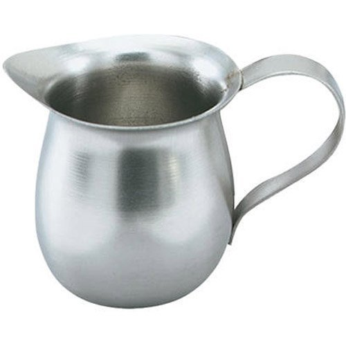- Vollrath Creamer Bell, Stainless Steel, 3 Ounce - 24 Per Case