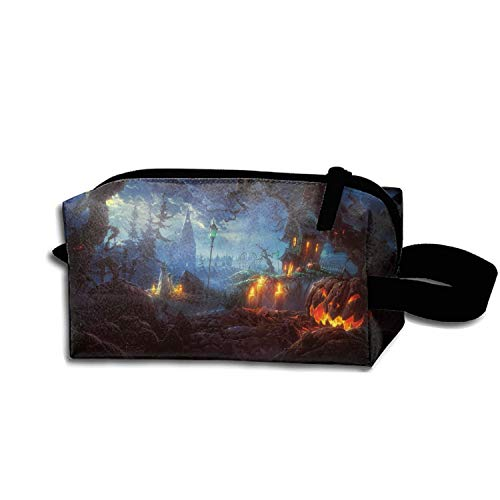 Dressing Case Travel Halloween Terror Ghost Cosmetic Bags