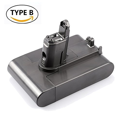 Replace for Dyson Battery 22.2V 2.2Ah Lithium Ion DC31 DC44 DC34 DC35 DC45 Cordless Power Tool (Only Fit Type B)
