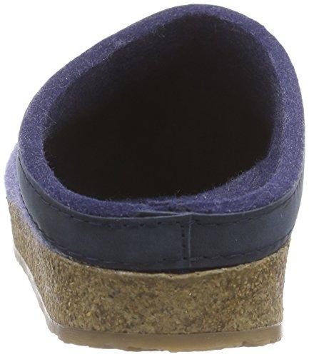 Haflinger 713001 Slippers, Filztoffel Grizzly Torben, Jeans, Gr 50 by Haflinger (Image #2)