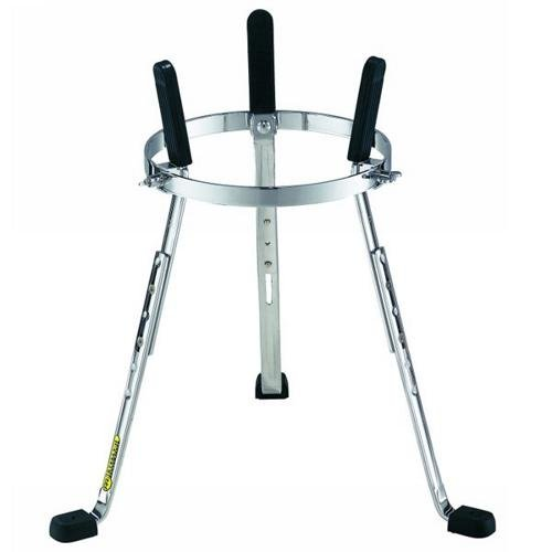 Djembe Percussion Stand (Meinl Percussion ST-DJEMBE Steely II Chrome Plated Height Adjustable Djembe Stand)