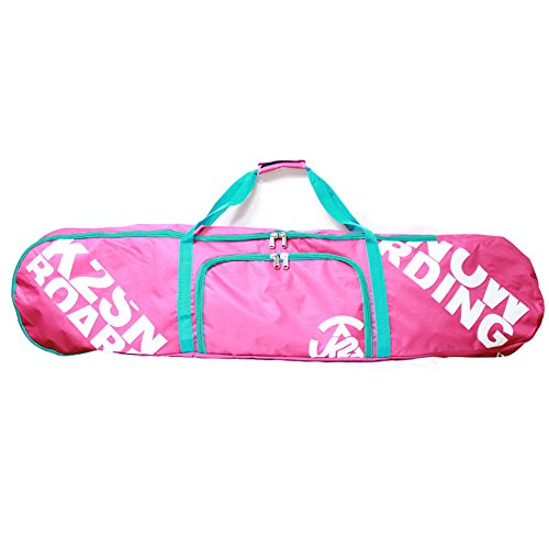 K2 150cm Snowboard Pink Deck Bag Boots Binding Carry Should Strap