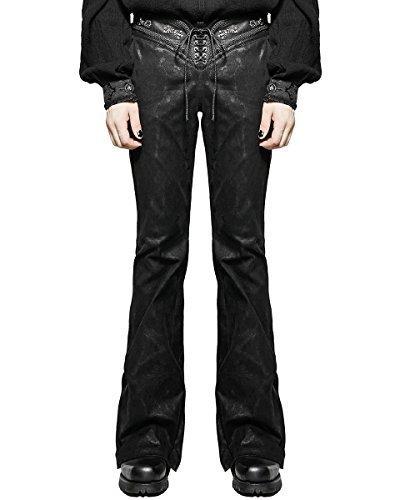 Punk Rave calzoncillos (hombre) Pantalones Vaqueros Negro De ...