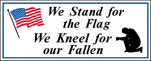 We Stand for the Flag We Kneel for our Fallen (Value 4 Pack) ()