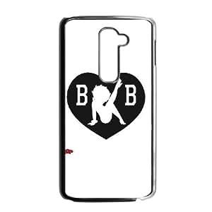 LG G2 Cell Phone Case Black Betty Boop BW VIU182404