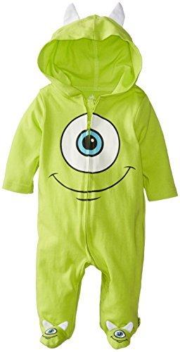 Disney Baby Niños Recién Nacidos Monster Inc. Mono, Verde, 6-9 meses ...