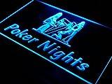 Poker Nights Game Bar Pub Gift LED Sign Neon Light Sign Display s007-b(c)