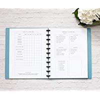"BetterNote Cleaning Schedule Kit for Disc Bound Planners, Fits 11-Disc Letter Size Notebooks, 6 Month Supply, 8.5""x11"" (Notebook Not Included)"