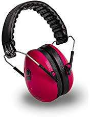Ems for Kids Hearing Protection Earmuffs - Pink. The Original Folding Children's Earmuff Since 2007. Use at Loud Events Including NASCAR, air Shows, Concerts, Festivals and More!