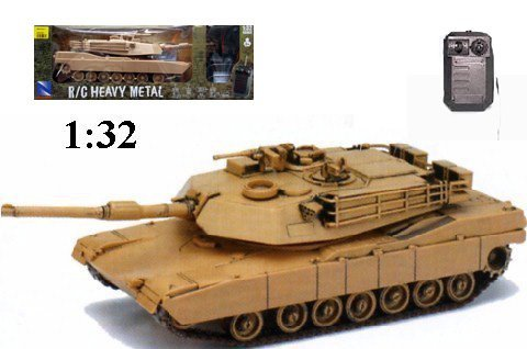 RC Tank Heavy Metal M1A1 Abrams Remote Control Tank for sale  Delivered anywhere in USA