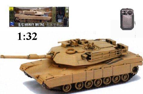 RC Tank Heavy Metal M1A1 Abrams Remote Control Tank 1:32 - Tank M1a1