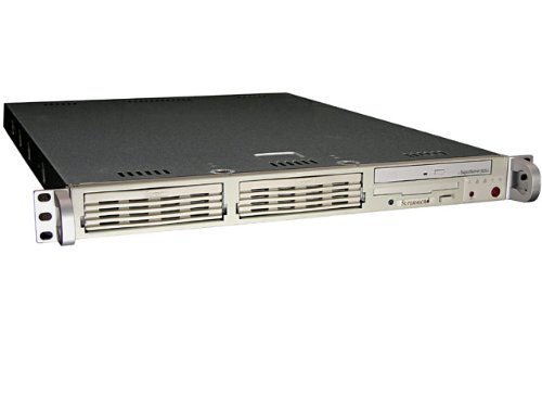 Supermicro Beige 1U Server Barebone Intel 845Ge Chipset Socket 478 250W 2*Ddr333 2*Gb-Lan Ata100, Model Sys-5013G-I -by-Supermicro