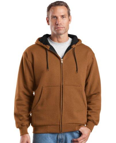 (Cornerstone Men's Heavyweight Thermal Full-Zip Sweatshirt_Duck)