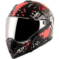 Vega Storm Atomic Black Red Helmet-L