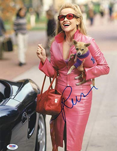 REESE WITHERSPOON SIGNED 11X14 PHOTO LEGALLY BLONDE AUTOGRAPH PSA/DNA - Reese Witherspoon Signed