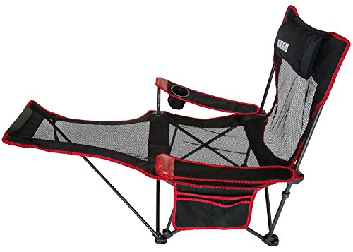 anigu mesh lounge reclining folding camp chair with footrest my outdoor gear club. Black Bedroom Furniture Sets. Home Design Ideas