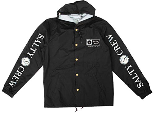 Salty Crew Navigator Snap Jacket Mens