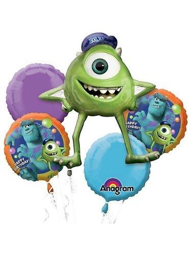Monsters University Foil Mylar Balloon Bouquet (5pc)