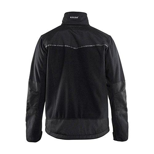 Blaklader 495525249900L Windproof Fleece Jacket Size L Black
