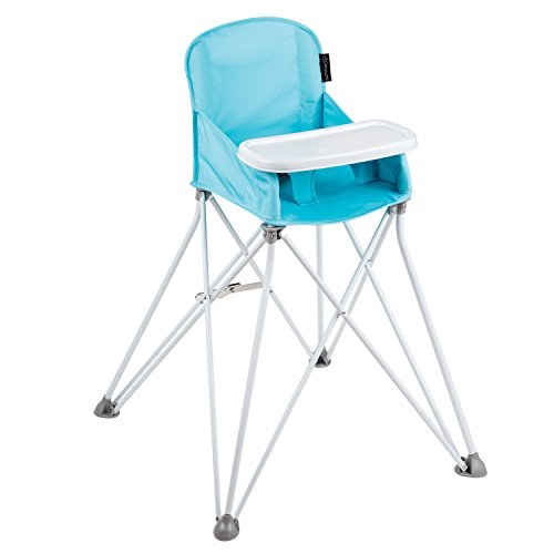 - Summer Infant Pop N' Sit Portable High Chair, Aqua Splash