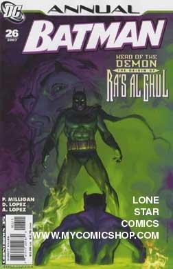 Batman Annual (26) (Head of the Demon Ra's al Ghul)