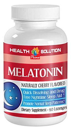 Gh Pituitary Support - 2 Bottle Melatonin Natural Hormone ,Sleep Normal, Sleep Pattern.