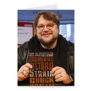 Guillermo Del Toro 'The Strain' book signing.. - Greeting Card (Pack of 2) - 7x5 inch - Art247 - Standard Size - Pack Of 2