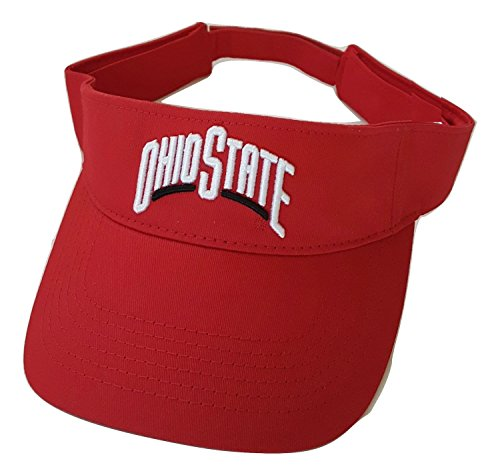 (NCAA Ohio State Buckeyes Visor (Red))