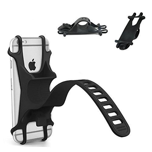 sicherer Halt Flexibles Material 360-Grad-Drehung Sto/ßd/ämpfung STIKGO Smartphone-Halterung f/ür Fahrrad//Motorrad Universal-Halterung aus Silikon f/ür Fahrrad- Oder Motorradlenker