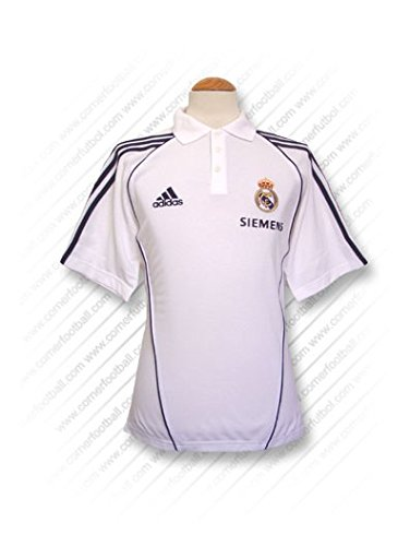adidas - Real Madrid Polo Blanco 05/06 Hombre Color: Blanco Talla ...