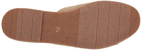 Bc Footwear Womens Doin Sandalo Da Scivolo Fine Tela Naturale