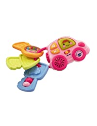 VTECH My 1st Car Key Rattle Pink (Dispatched from UK) BOBEBE Online Baby Store From New York to Miami and Los Angeles