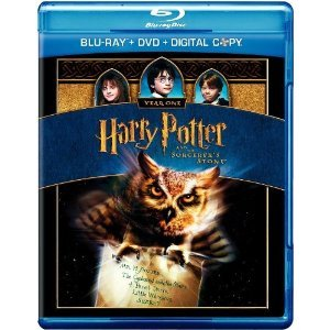 Harry Potter and the Sorcerer's Stone (Blu-ray + DVD + Digital Copy Combo Pack) (Harry Potter And The Sorcerers Stone English Subtitles)