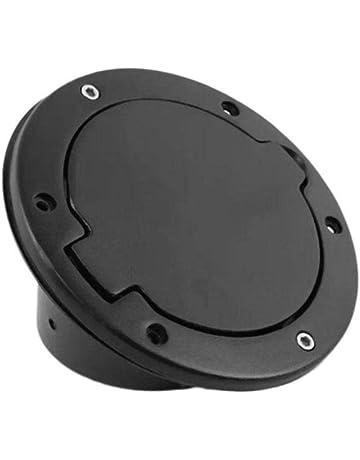 Paradesour Tapa para Wrangler Aleación de Aluminio Cubierta del Tanque de Combustible del Coche 4-