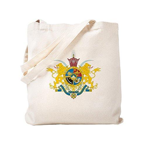CafePress - Iran Coat Of Arms (Pahlavi Dy - Natural Canvas Tote Bag, Cloth Shopping Bag by CafePress (Image #2)