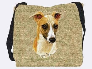 Whippet Tote Bag - 17 x 17 Tote (Whippet Tote Bag)