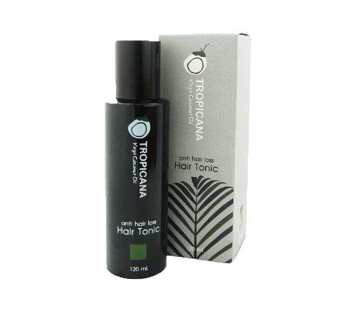 Anti Hair Loss Hair Tonic 120ml, Tropicana Cold Press Coconut Oil by Tropicana