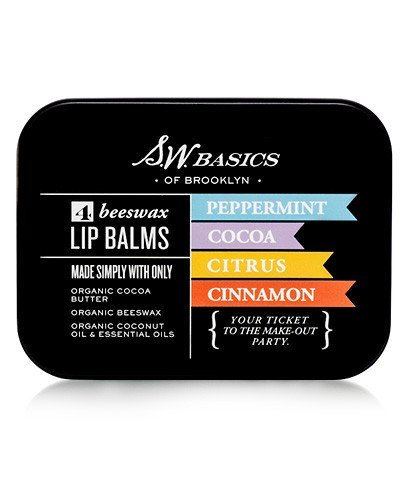 SW Basics Beeswax Organic Lip Balm Flight Flight Butter