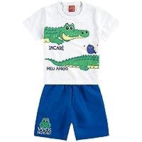 Conjunto Infantil Masculino Camiseta + Bermuda Kyly 109208.0001.G