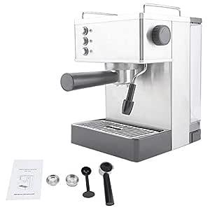 Jimfoty Cafeteras, cafetera de café Espresso de Acero ...
