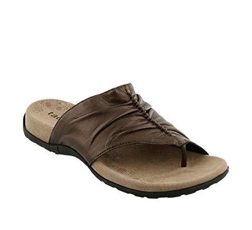 Taos Footwear Women's Gift 2 Bronze Sandal 10 M US