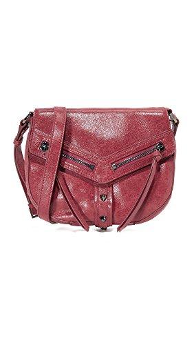 Botkier Women's Trigger Saddle Bag, Chili, One ()
