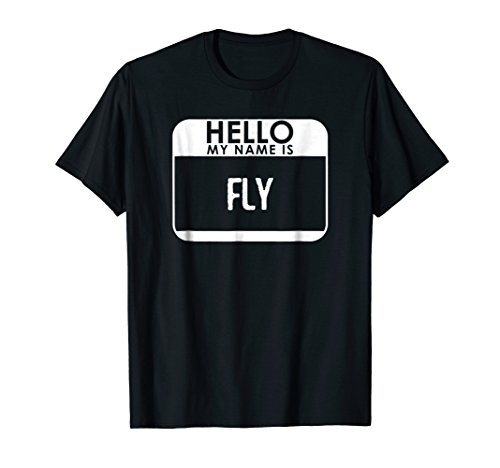 Fly Costume T-Shirt Funny Easy Halloween Outfit (Halloween Themed Boy Names)