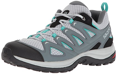 Salomon Women's Ellipse 3 AERO W USA Hiking Shoe, Quarry, 9.5 M US