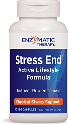 (Enzymatic Therapy Stress-end, 90 Capsules)