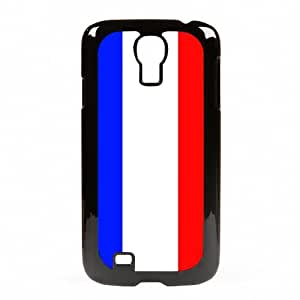 Case Fun Samsung Galaxy S4 (I9500) Vogue Case - Flag of France Style 4